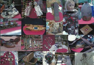 Puces de Vanves Paris Flea Market Objet du Coeur 2011:3
