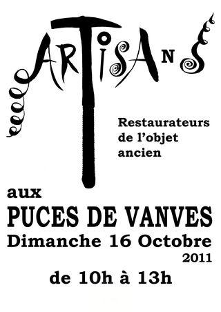 Puces de Vanves Paris Flea Market Artisans