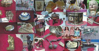 Puces de Vanves Paris Flea Market Objet du Coeur 2011- 2:3